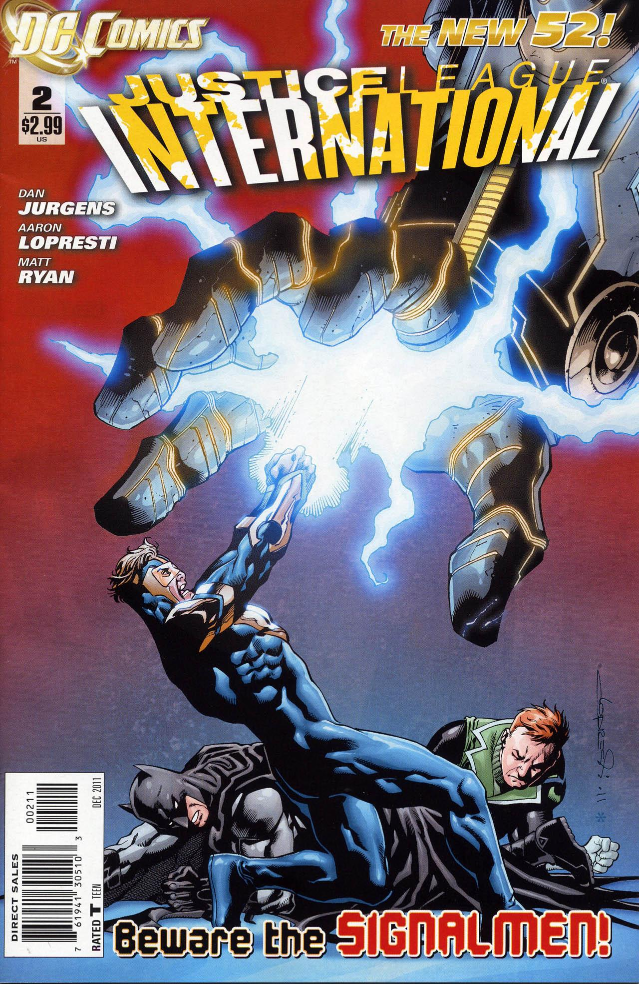 Justice League International #2