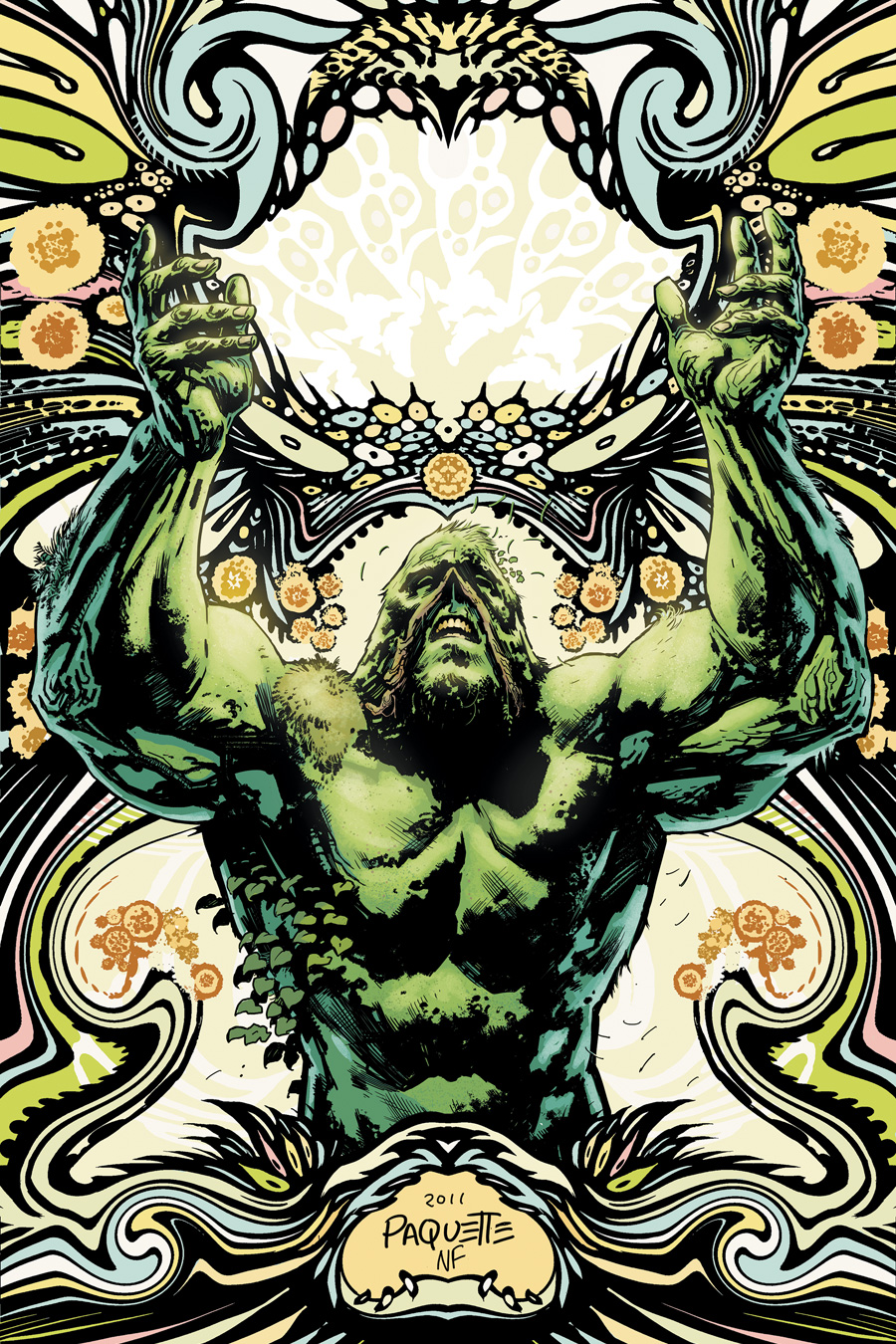 People I Give You Swamp Jesus A Review Of Swamp Thing 7 Murthareviews