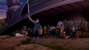 Lion-O with the allied species